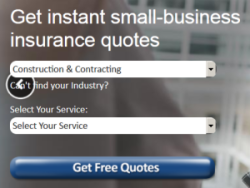 Small business insurance for contractors and construction companies.